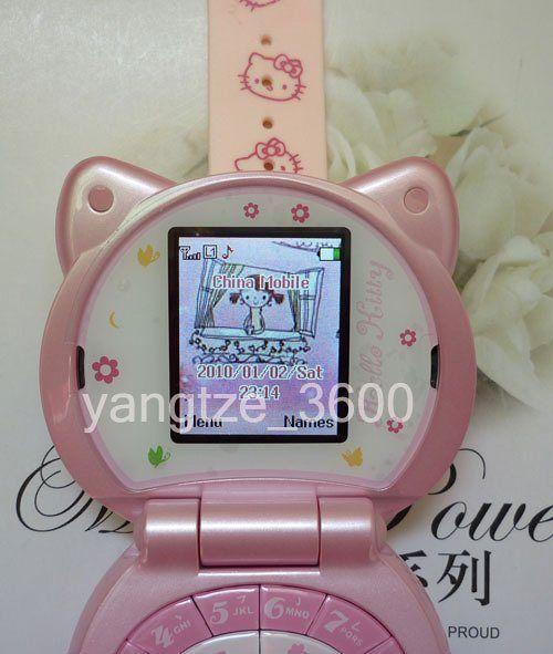 Fashion Hello Kitty watch cell phone mp4 camera cute