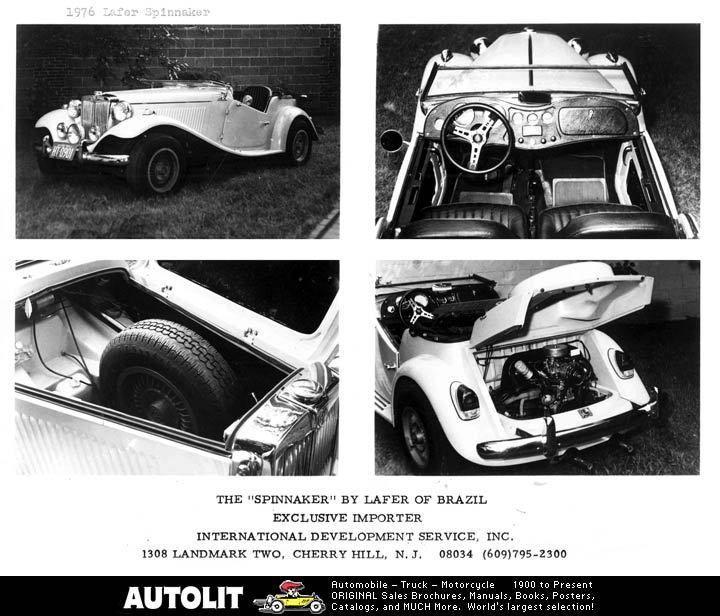 1952 1979 MG TD MGTD Lafer VW Kit Car Photo |