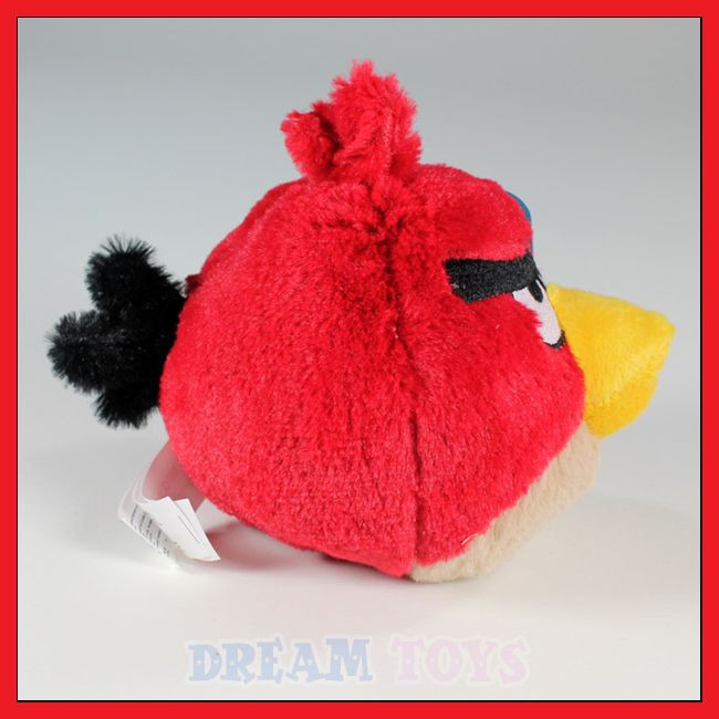 Angry Birds Red Plush Doll   Toy Rovio iphone Game