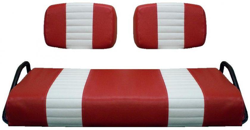 Club Car Pre 2000 Golf Cart Vinyl Seat Cover  STAPLE ON