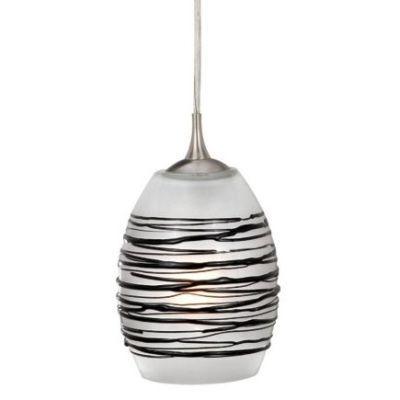NEW Mini Pendant Lighting Fixture OR Track Light, Brushed Nickel