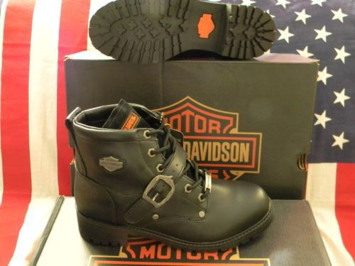 HARLEY DAVIDSON BOYS FADED GLORY MOTORCYCLE BOOTS NEW IN BOX CLEARANCE