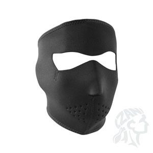 Zan Headgear Full Face Neoprene Mask Black Motorcycle Biker cold