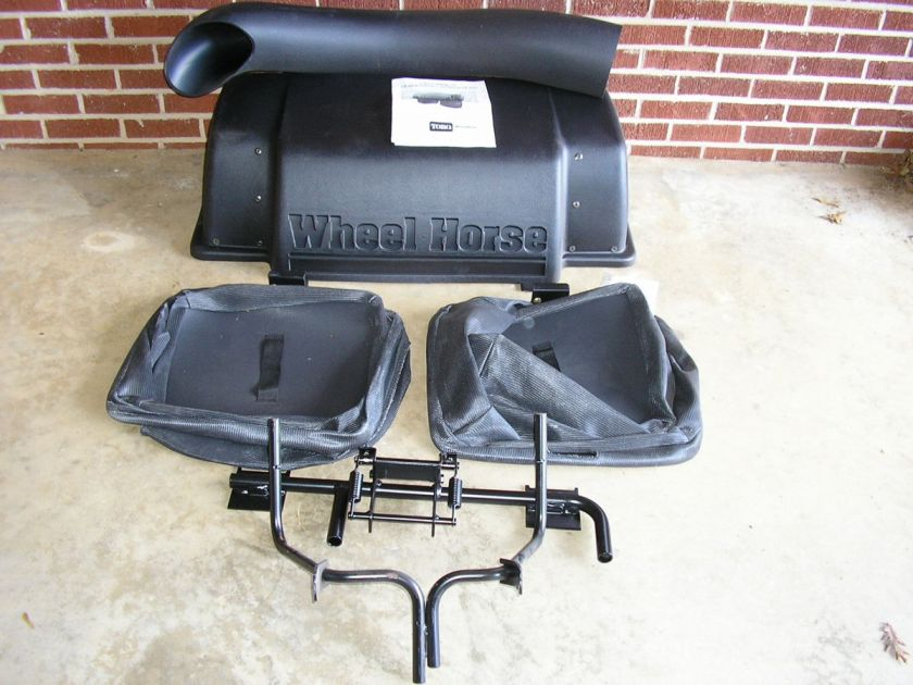 Craftsman Double Bagger : Toro wheel horse bl easy twin grass catcher bagger